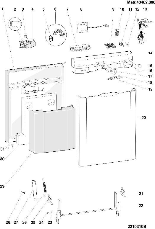 25 Hotpoint Dishwasher Parts Diagram
