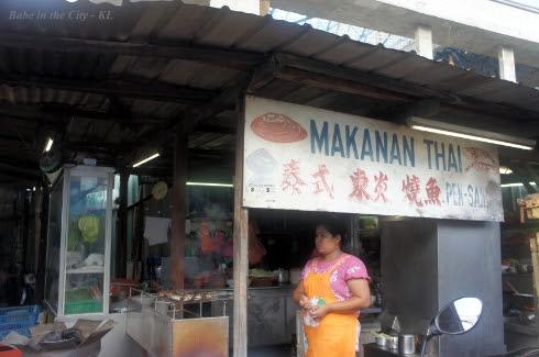 Makanan Thai Pek Sak