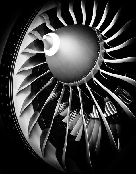 TurboFan by Jamie Harbour on 500px | Jet engine, Airplane