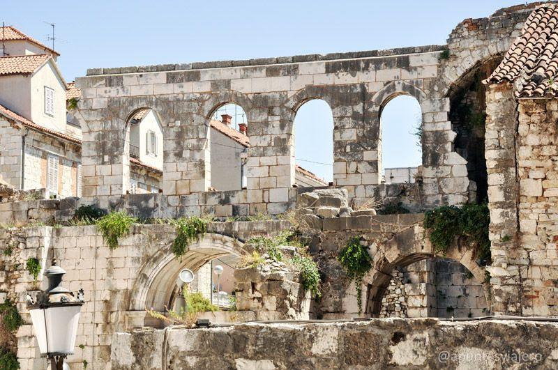 Resultado de imagen de palacio de diocleciano croacia