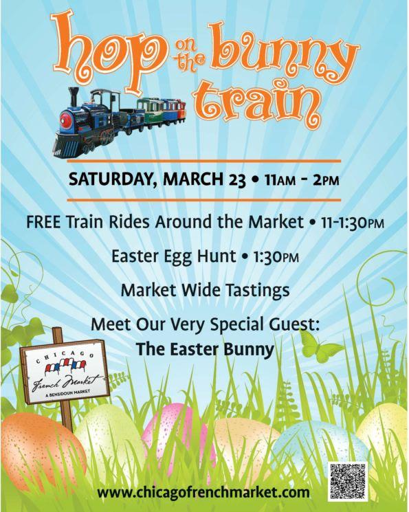 hop the bunny train ET