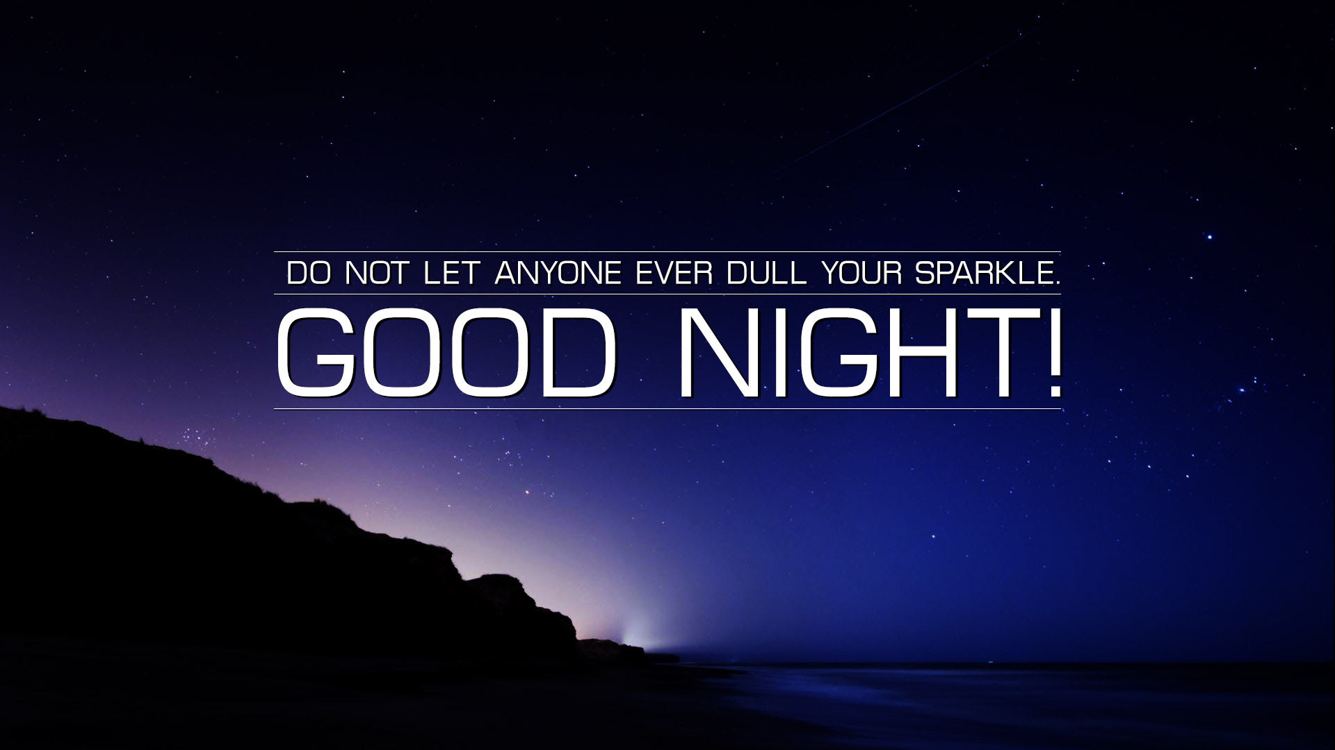 Good Night Quote Wallpapers, Pictures, Images
