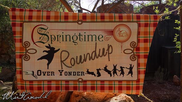 Disneyland Resort, Disneyland, Spring, Springtime Roundup, Easter