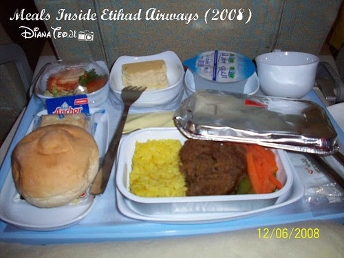 Meals Inside Etihad Airways