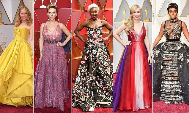 Oscars 2017: Pior vestido no tapete vermelho