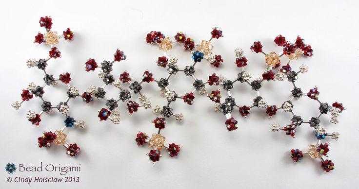 Bead Origami: Arixtra Molecule