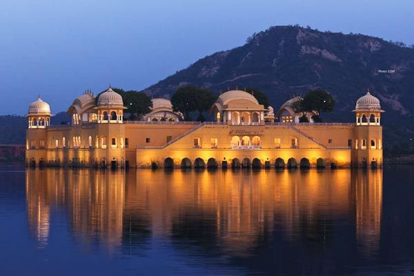 Jal Mahal water palace india