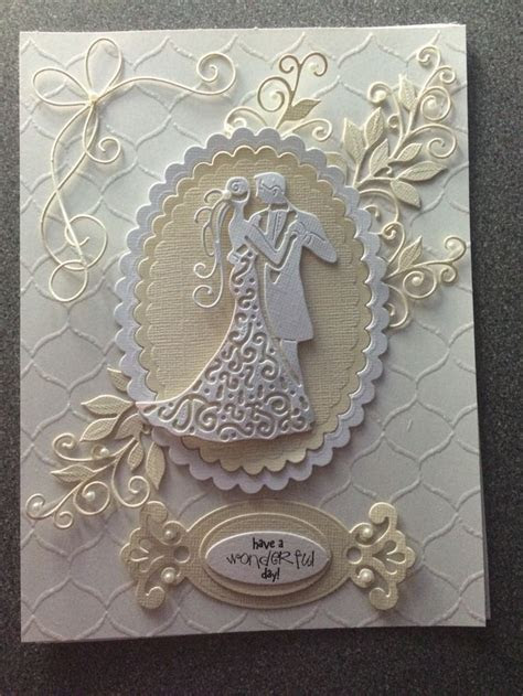 25  best ideas about Wedding cards handmade on Pinterest