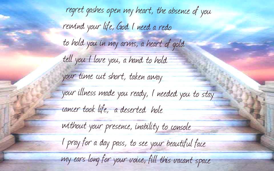 Day Pass To Heaven Sad Poetry