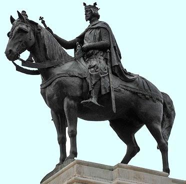 Fernando II el Santo. Estatua en Sevilla