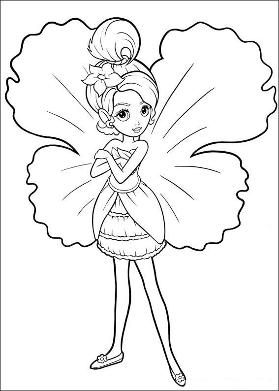 Cartoon Fairies Coloring Pages at GetColorings.com | Free ...