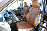 2012 Acura TL front seats