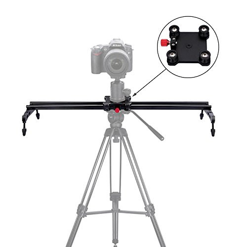 Pangshi 24 Camera Slider Dolly Track Glider System With Roller