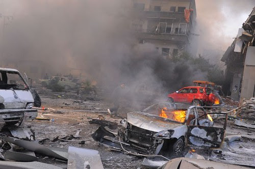 A car bomb exploded in the Syrian capital of Damascus on February 21, 2013. Over fifty people were killed in the attack attributed to the US-backed armed opposition. by Pan-African News Wire File Photos