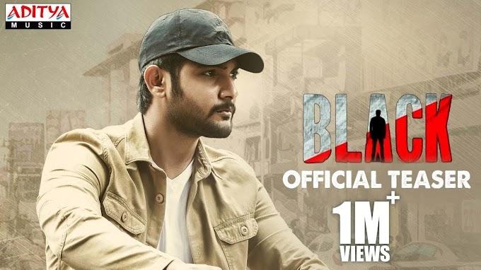 Aadi Sai Kumar's Upcoming Action Film 'Black' teaser