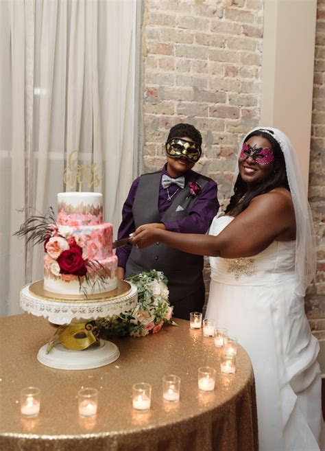 Masquerade wedding brought to life by Wish Upon a Wedding