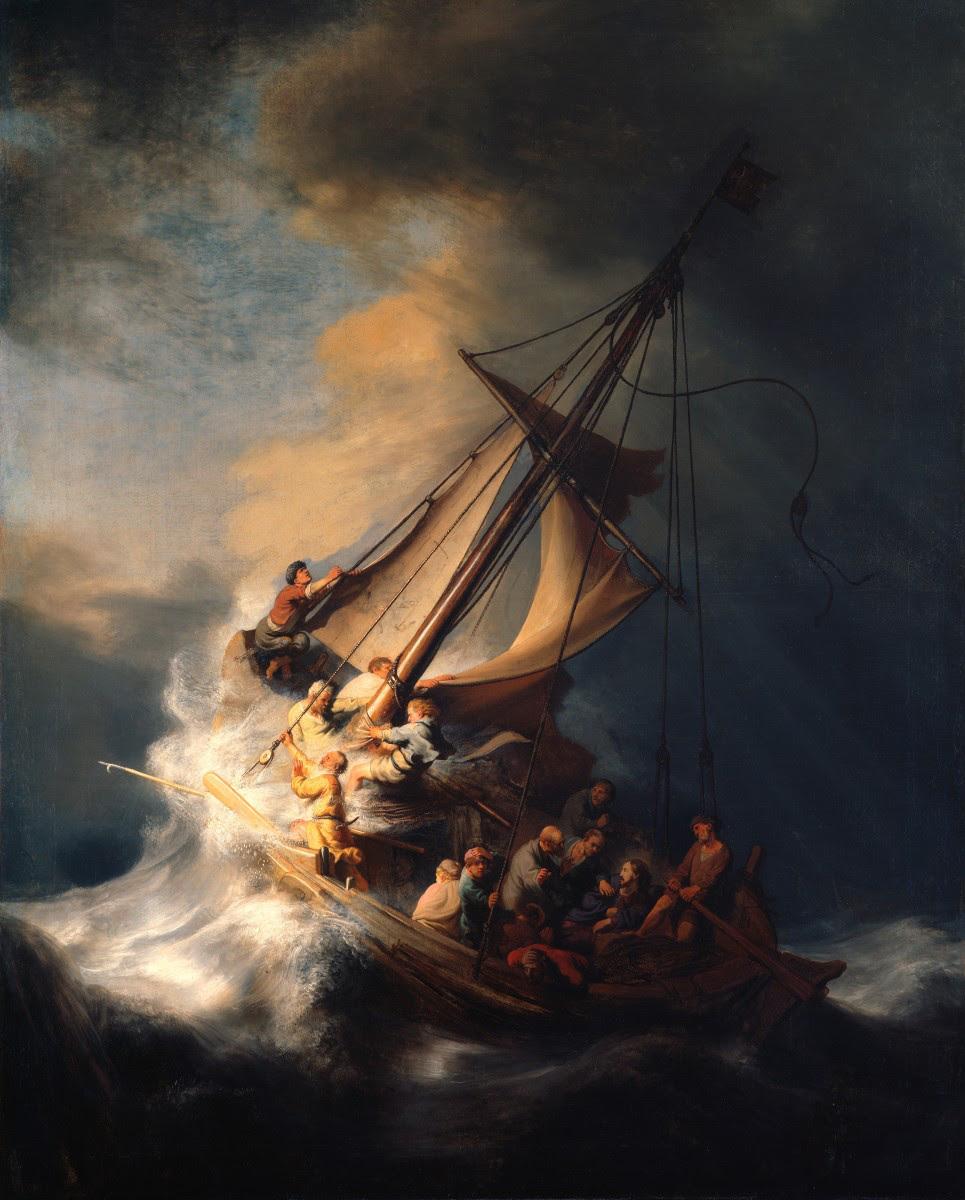 Rembrandt Harmensz. van Rijn: The Storm on the Sea of Galilee