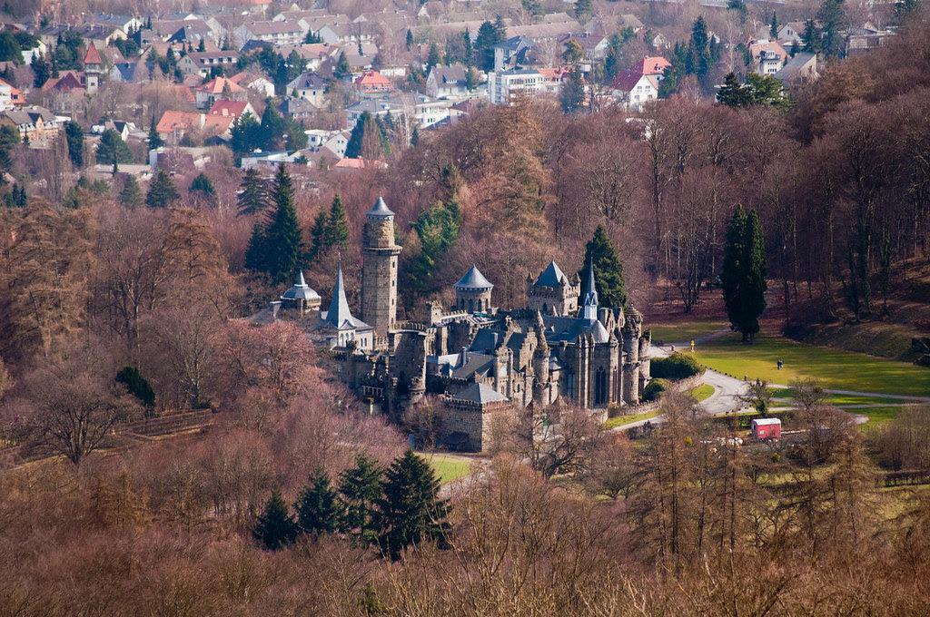 Castle in Bergpark Wilhelmshöhe
