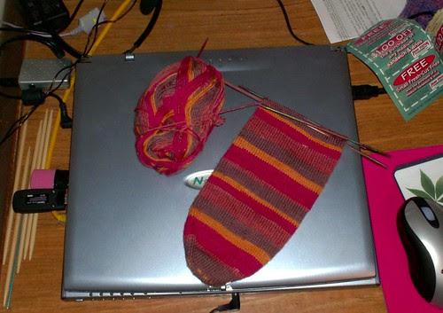 Knit Picks Felici knit sock