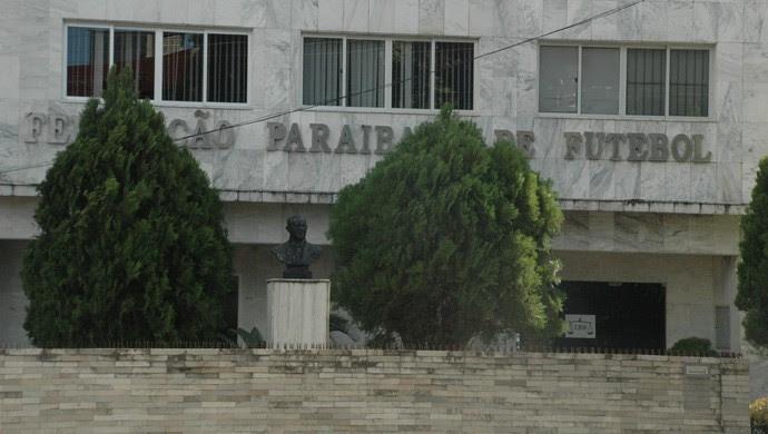 Federação Paraibana de Futebol (Foto: Rammom Monte / GloboEsporte.com/pb)