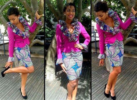 tailleur   Le pagne africain   Pinterest