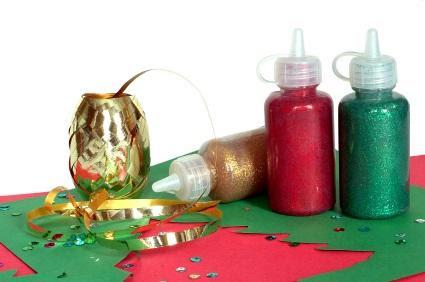 winter craft supplies