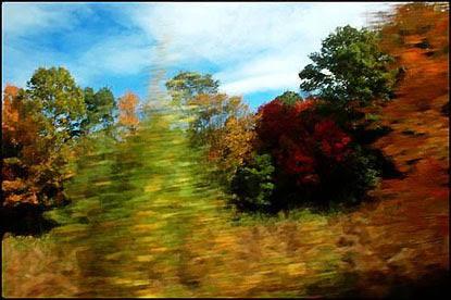 From the train, Massachusetts