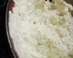 Creamy, Cool Blue Cheese Dip