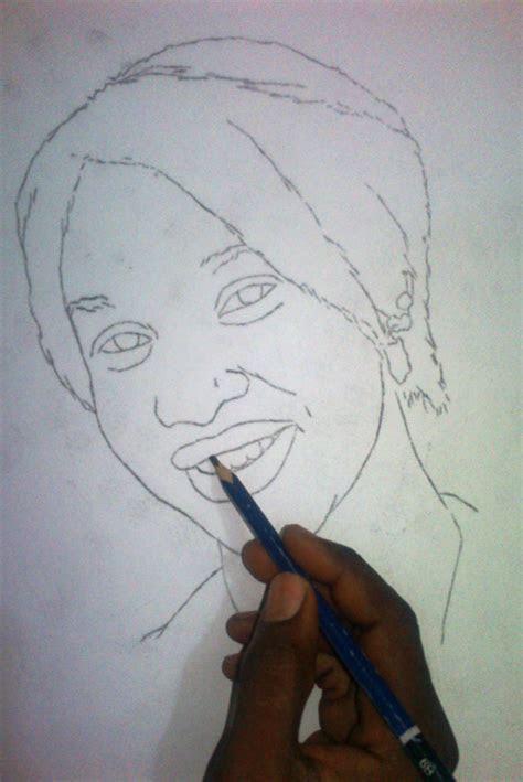 drawings  ayeola ayodeji nigerian artist