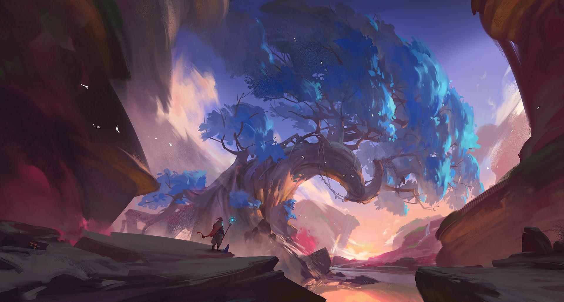 Warrior Dreamy Concept Fantasy Digital Art Artwork, HD ...
