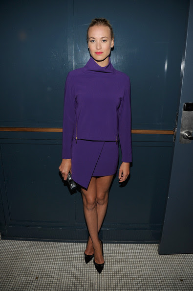 Yvonne Strahovski - GQ Fashion Week Party At The Wythe Hotel