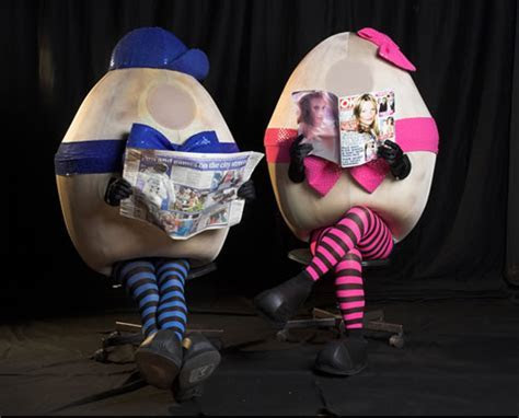 Eggs on Legs Walkabout Act   Flaming Fun Event