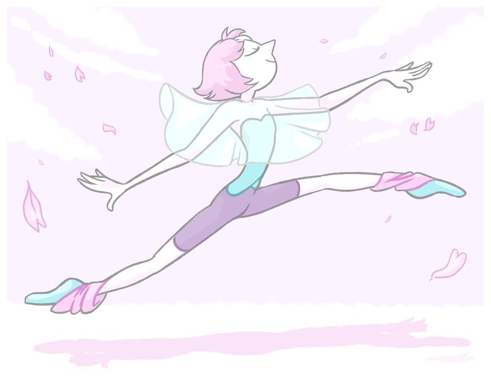 felt like drawing pearl¯\_(ツ)_/¯ i like how it came out i think :>