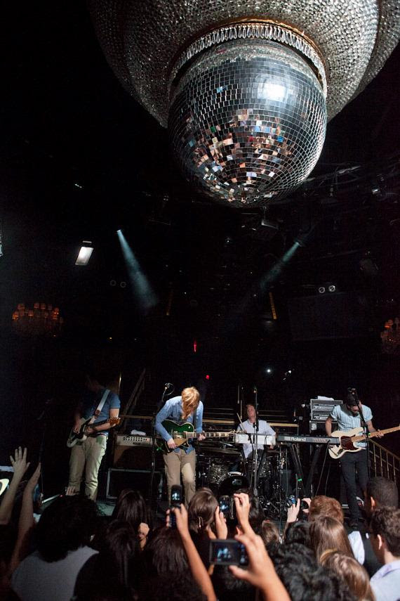 Two Door Cinema Club Performs at Body English in Hard Rock ...