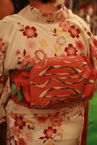 Hello Kitty Kimono - Hello Kitty Three Apples Party