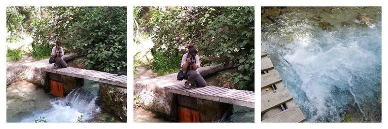 La fotógrafo pillada