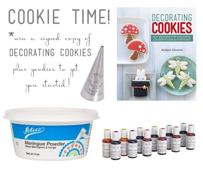 decorating cookies giveaway ::: bake at 350 blog