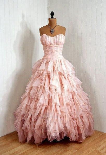 Vintage pink dress!