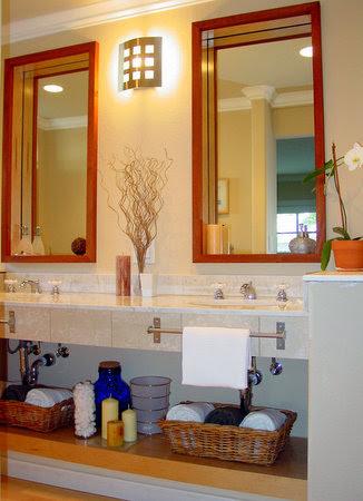 Spa-style bathroom - Bathroom decorating ideas