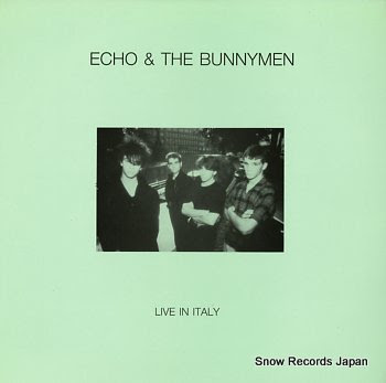 ECHO & THE BUNNYMEN live in italy