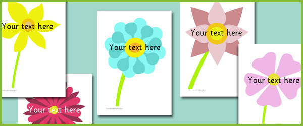 Flower Picture cards   Free Early Years & Primary Teaching ...