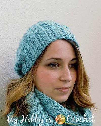 Serene Blue Go With the Flow Hat