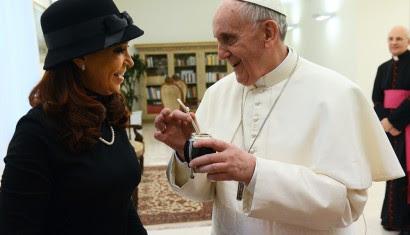 Los consejos que el Papa Francisco le dará a Cristina