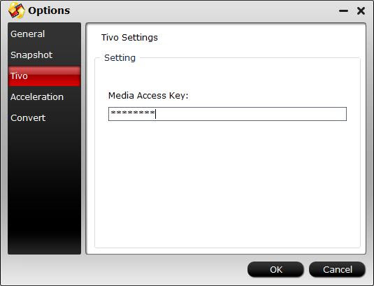 Enter Media Access Key