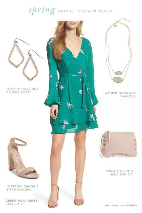 What Should You Wear to A Bridal Shower as a Guest   Green