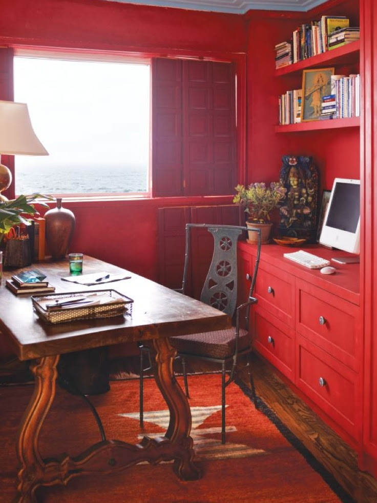 #liveinred home office