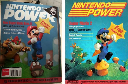 Nintendo Power's final issue pays homage to its humble beginnings