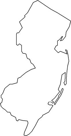 Image Result For Nj State Map