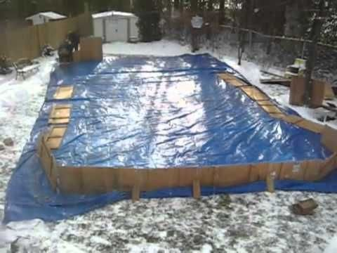 33+ How To Make A Backyard Ice Rink Pictures - HomeLooker