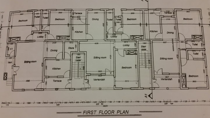 Plan Of My 6 Flat, 2 Bedroom Each. What Do U Think ...